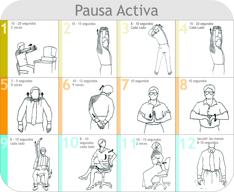 Haz una pausa activa fastmed for Estiramientos oficina