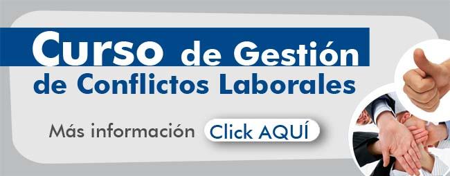 Banners promoción de curso de gestion de conflictos